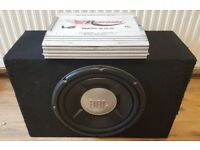 CAR ACTIVE SUBWOOFER JBL GT5 1200 WATT 12 INCH BASS BOX WITH BUILD IN AMPLIFIER SUB WOOFER AMP