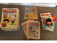 175+ Beano comics, summer special & annuals