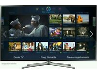 "Samsung 40"" LED smart 3D tv wifi built USB MEDIA PLAYER HD"