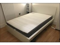 IKEA Malm Double Bed (incl Hovax matress)