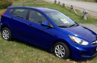 LOW MILEAGE 2012 Hyundai Accent Hatchback