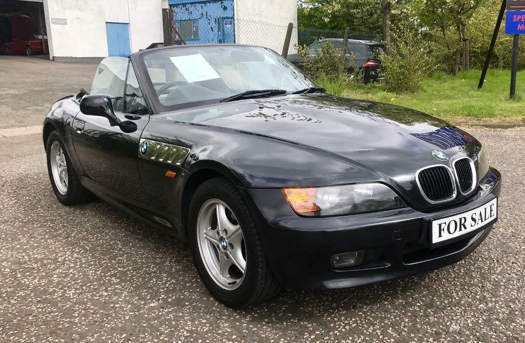 Bmw Z3 1 9 Roadster Convertible Soft Top Summer Petrol