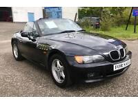 BMW Z3 1.9 Roadster Convertible Soft Top Summer Petrol Black E30 E36 E46 MX5