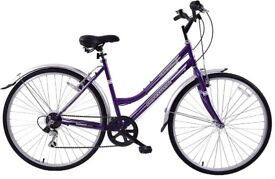 "(4194) 700c 16"" PROFESSIONAL METROPOLITAN WOMENS HYBRID BIKE BICYCLE Size S Height: 155-170 cm"