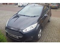 Ford Fiesta Zetec, 42500 mi, 1.0 EcoBoost, 5 dr, Panther Black, £0 Tax, 9 months MOT