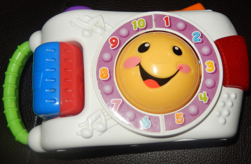 11140fcb49b9 Fisher Price Laugh and Learn Learning Camera Music Baby girl boy ...