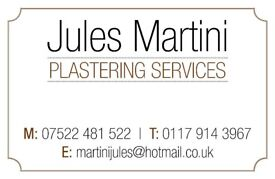 Jules Martini Plastering Services- Call now for a free quote.