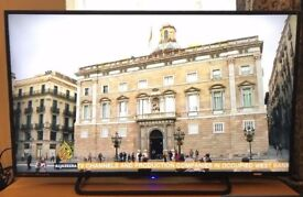 Technika 50 Inch Full HD 1080p Slim LED TV with Freeview HD