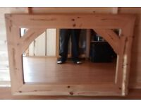 Mexican Pine Large Mirror