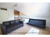 NW2 Willesden Green - 1 Bed Flat for Rent - Available Now - Top Floor - Wooden Flooring - Storage