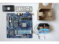 Gigabyte GA-78LMT-USB3 Motherboard with AMD FX-4130 Quad core processor