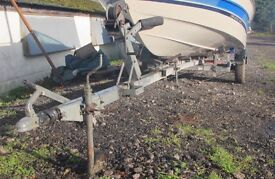 BOAT TRAILER FOR BOATS UP TO 21 + FT