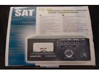 HAND HELD PORTABLE SATELLITE SIGNAL STRENGTH METER SM-05 (NEW & UNUSED)