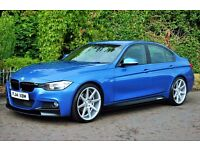 BMW F30 320d M SPORT IN ESTORIL BLUE ** M PERFORMANCE KIT **