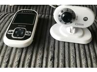 motorola MBP26 digital video baby monitor