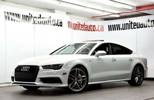 2016 Audi A7 S-LINE 3.0T TECHNIK NAV HEADS UP DISPLAY