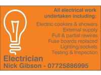 Electrician covering all areas in the North East
