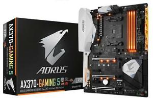 NEW GIGABYTE AORUS GA-AX370-Gaming 5 AMD Ryzen AM4 X370 RGB FUSION SMART
