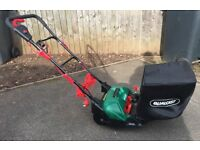 Qualcast Electric Cylinder Lawnmower As New Used Twice