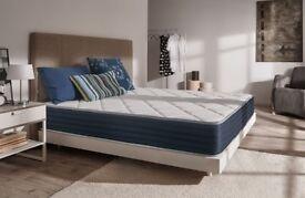 Naturalex – Royalvisco Memory Foam Mattress (140cm x 200cm) + 7-Zone Blue Latex (25cm)