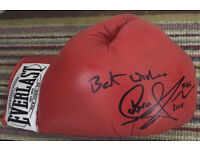Carl Froch signed glove everlast with COA