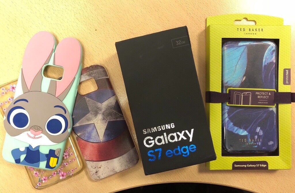 save off d4d22 74457 S7 edge with Ted Baker case   in Swindon, Wiltshire   Gumtree