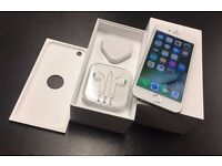 iPhone 6 16GB SILVER GLOBALLY UNLOCKED BOXED ACCESSORIES SHOP WARRANTIED