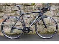 2016 SPECIALIZED TARMAC COMP ULTEGRA FULL CARBON ROAD RACING BIKE. SUPERB CONDITION. COST £2000+