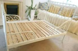 #####Minnem Ikea Ext toddler bed frame including matress