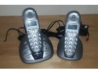 BT Freestyle 650 Cordless phone built-in answering machine, 2 handsets/base