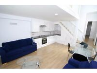 VERY BRIGHT & SPACIOUS 2 BED SPLIT LEVEL FLAT- FURNISHED WITH BRAND NEW FURNITURE- GREAT LOCATION