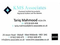 Competitive fixed fee accountancy services by a Chartered Certified Accountant and CIOT Tax advisor