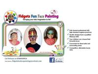 Face Painter - Fidgets Fun Face Painting