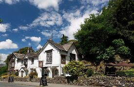 Bar Manager at Lake District Country Inn