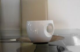 Set of 4 Sunev Cups and Saucers