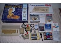 Boxed commodore 64 c64 with joysticks and games!!!
