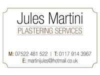 Jules Martini Plastering Services- Call for a free estimate.