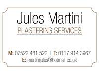 Jules Martini Plastering Services- Call for a free estimate.