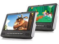 """Nextbase Car 9 Dual - 9"""" Dual Portable In-Car DVD Players"""