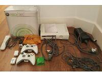 Microsoft Xbox 360 20GB White Console in orginal box