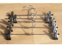 Steel Hangers Excellent Condition