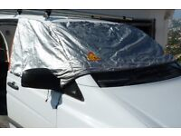 """Transit Van window screen insulated cover by """"silverscreens"""""""