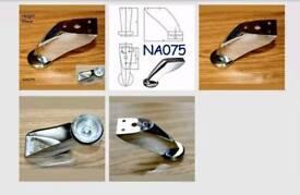 4 X Polished Chrome Steel Leg,