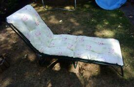 Garden furniture, recliner chair