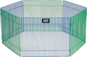NEW Midwest Home For Pets 277763 Small Pet Playpen 6 Panel 15 by 19-Inch