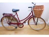 LADIES HYBRID BIKE VINTAGE RALEIGH CAMEO WITH ORIGINAL EXTRAS VERY GOOD CONDITION THROUGHOUT