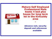 Mature Professional male seeks family home to rent...