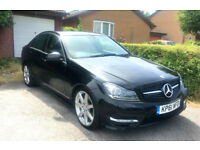 Mercedes-Benz C-Class C250 2.1 AMG Sport Edition BlueEFFICIENCY Manual Full Service History