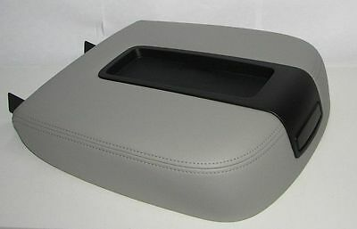 07 08 09 2010 Chevy Avalanche-Center Console Storage Compartment Lid Cover Gray
