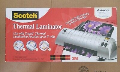 Scotch Thermal Laminator Only Without Laminating Pouches - Office Home Supplies